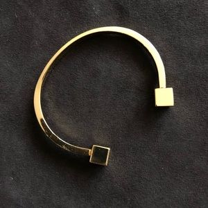 J. Crew Gold Bangle Bracelet